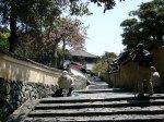 奈良東大寺二月堂を望む